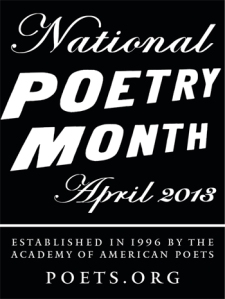 National Poetry Month April 2018, poets.org